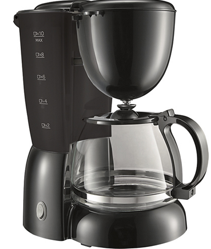 HOT* 10Cup Drip Coffeemaker in Black Only 3.99 + FREE