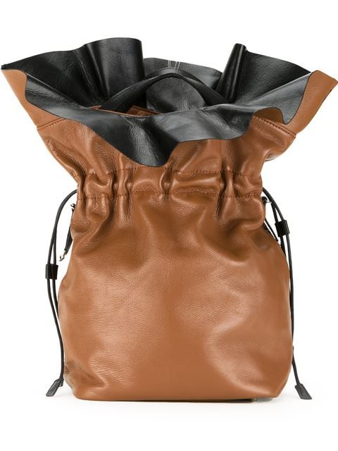 3a61e53c93 TOGA Drawstring Large Bucket Tote Bag. #toga #bags #tote #leather #bucket  #shoulder bags #hand bags #rayon