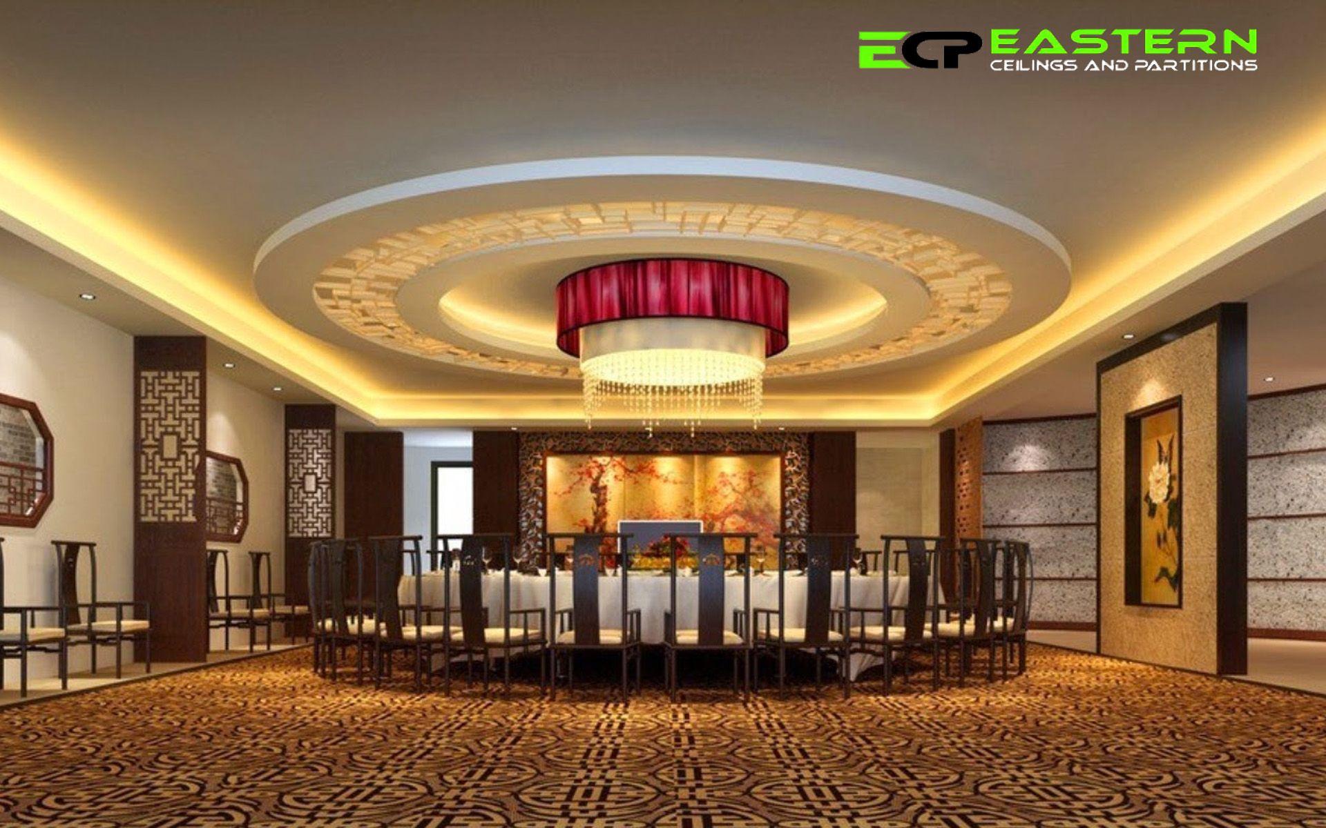 Luxury Ceiling Droplight Chinese Restaurant Interior Design False Ceiling Design Ceiling Design False Ceiling