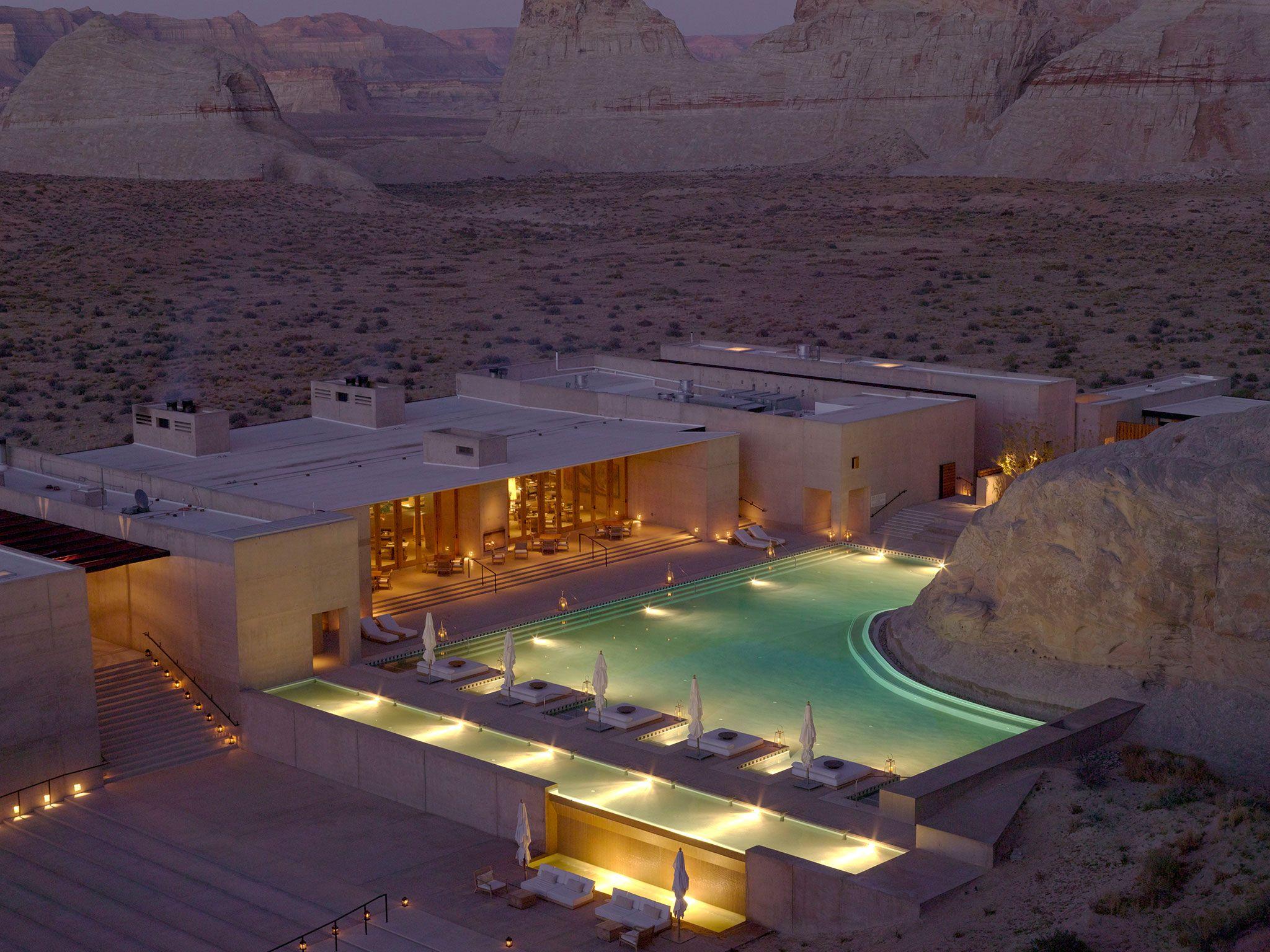 Amangiri canyon point utah amagiri is a luxury resort and spa hidden away on 600