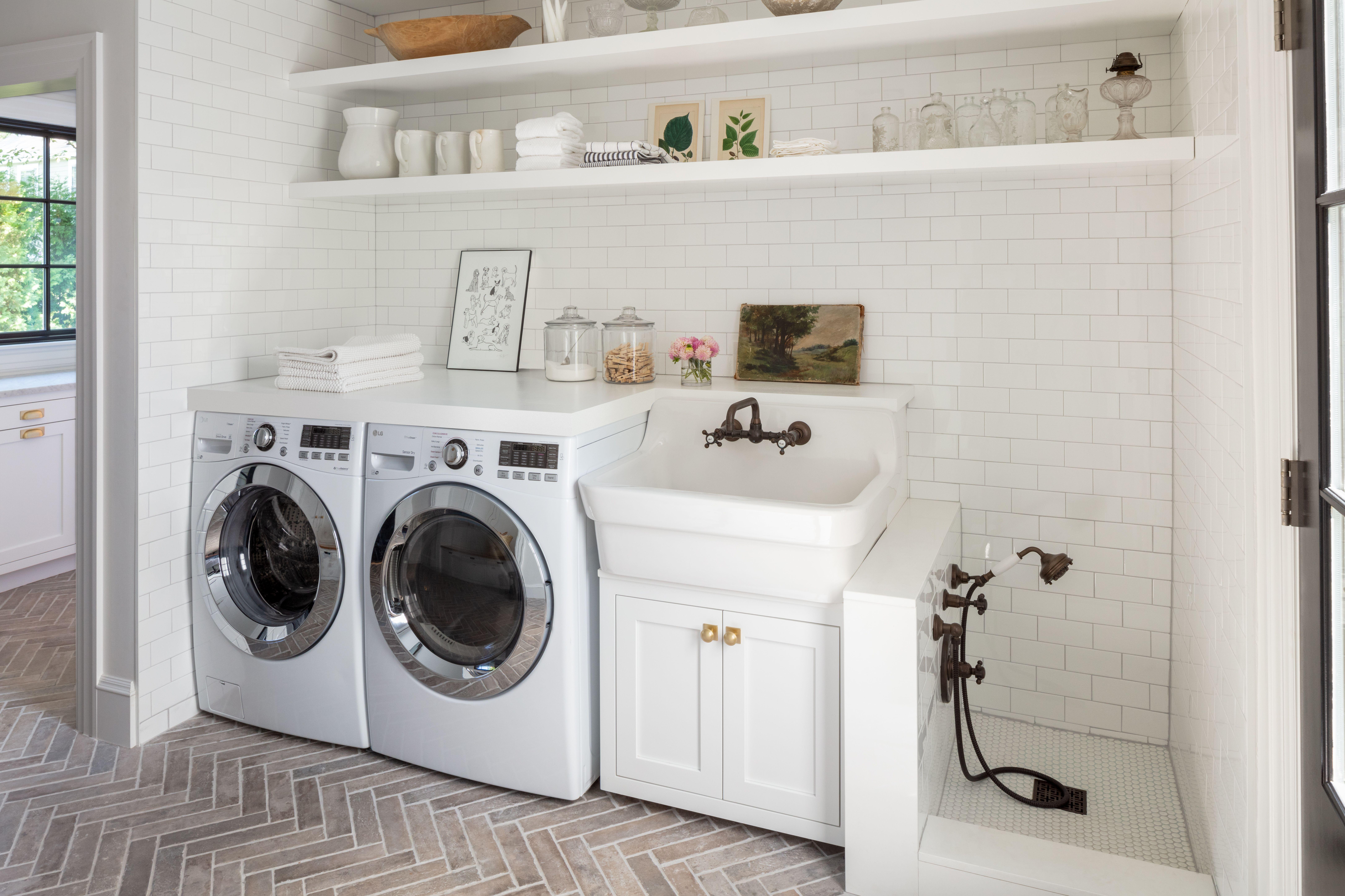 laundry room dog shower Laundry room design, Stylish