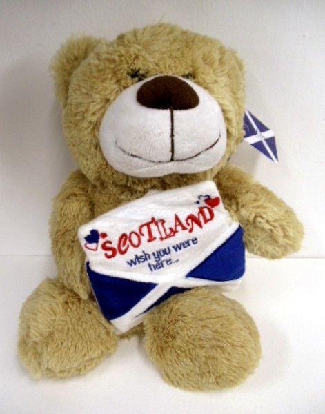Scottish Plush WEST HIGHLAND TERRIER TARTAN PIPER 12/'/' Stuffed Soft White Dog