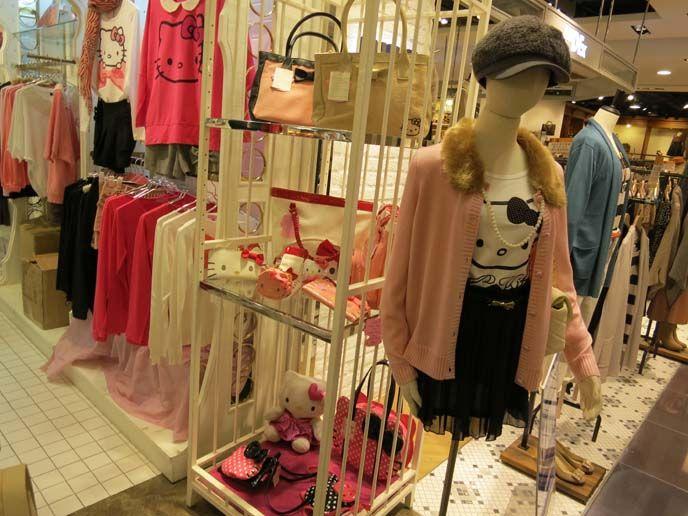 Hello Kitty Clothing Collaborations Hong Kong Izzue Store Kilara Japan Forever 21 Sanrio Capsule Collection La Carmina Blog Alternative Fashion Goth Tr Hello Kitty Clothes Girls Clothing Brands Japanese Outfits