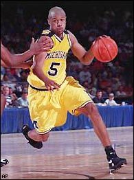 a04a7b3859d8 Jalen Rose Michigan Fab Five PG