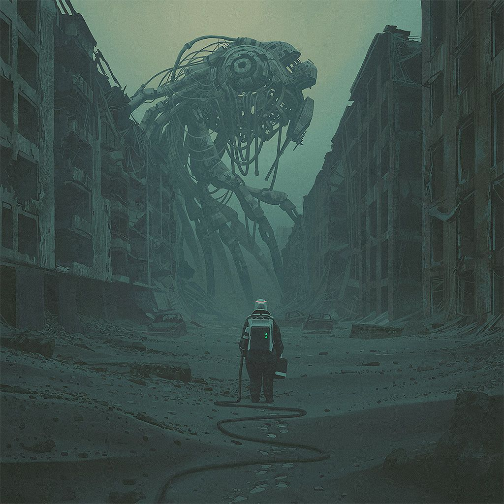 Simon Stlenhag Art #scifi #sciencefiction #art #
