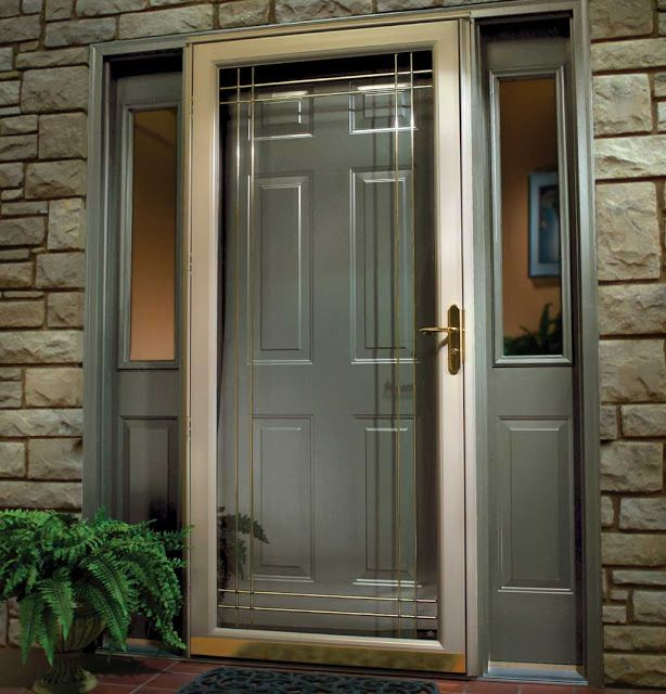 Front Door Option Love How You Can See Door Even Though There Is A
