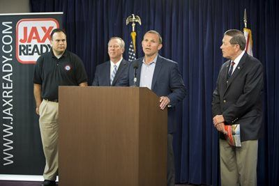 Mayor Curry Addressing The Media During The June 1 2016 News Conference For The Start Of Hurricane Season Hurricane Season City Hurricane
