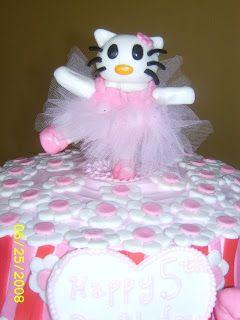 balleria cakes | Cake Whimsy: Hello Kitty Ballerina Birthday Cake