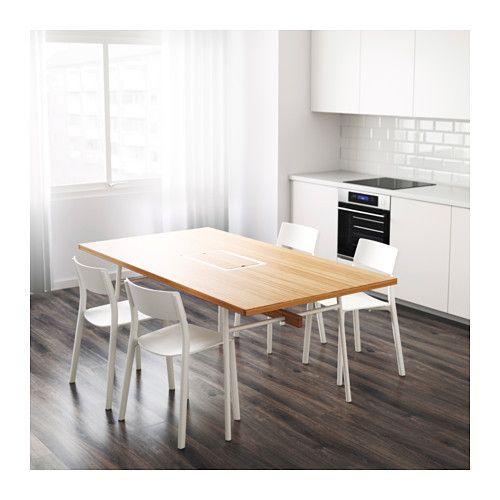 ANVÄNDBAR Bord, bambu, vit House, Kitchens and Room - ikea küche tisch