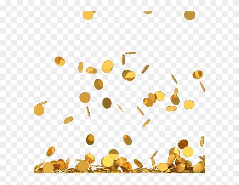 Find Hd Money Png Gold Coin Rain Png Transparent Png To Search And Download More Free Transparent Png Images Gold Coins Png Money Images