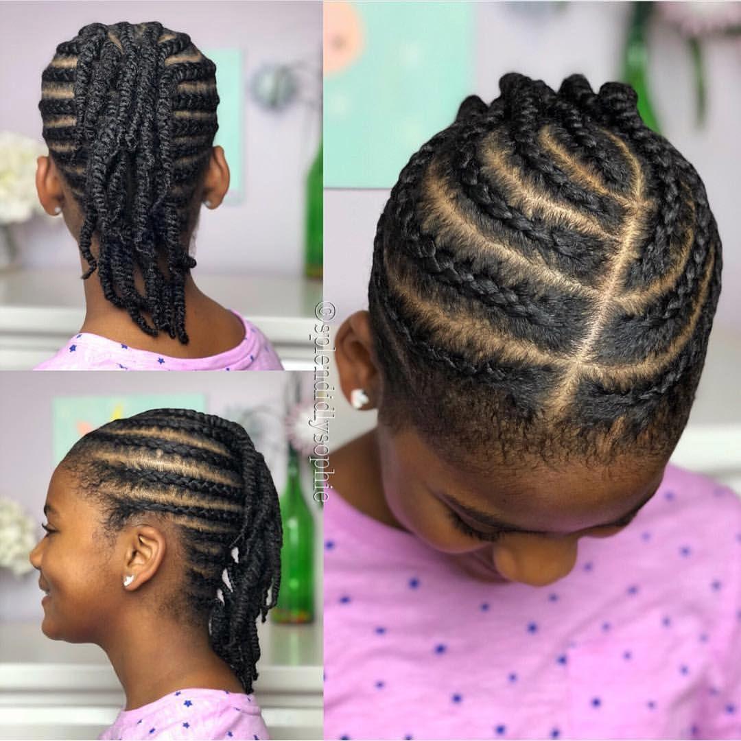 20+ Kids Hair Braiding Styles - Hairstyles #hairstyles # ...