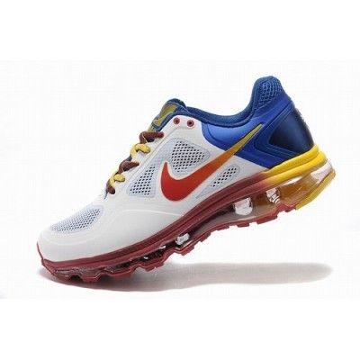info for a73f2 fb7ae Popular Nike Air Trainer 1.3 Max Breathe MP White Red Blue Yellow Men Shoes