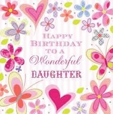 Image result for happy birthday daughter                                                                                                                                                                                 Más