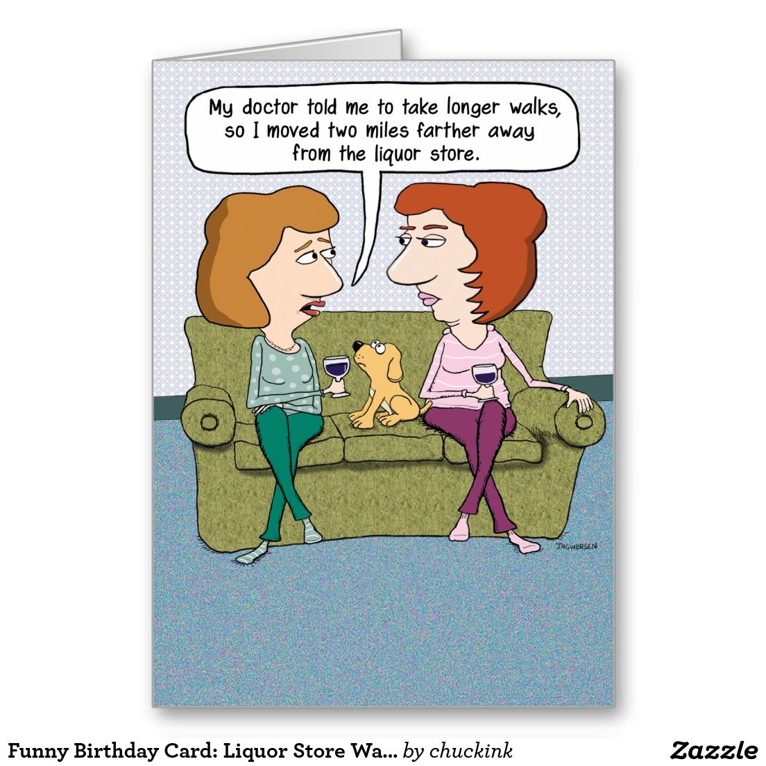 Funny birthday card liquor store walks funny birthday cards funny birthday card liquor store walks kristyandbryce Images