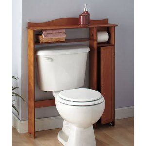 this may fit in our water closet! Bathroom shelf decor