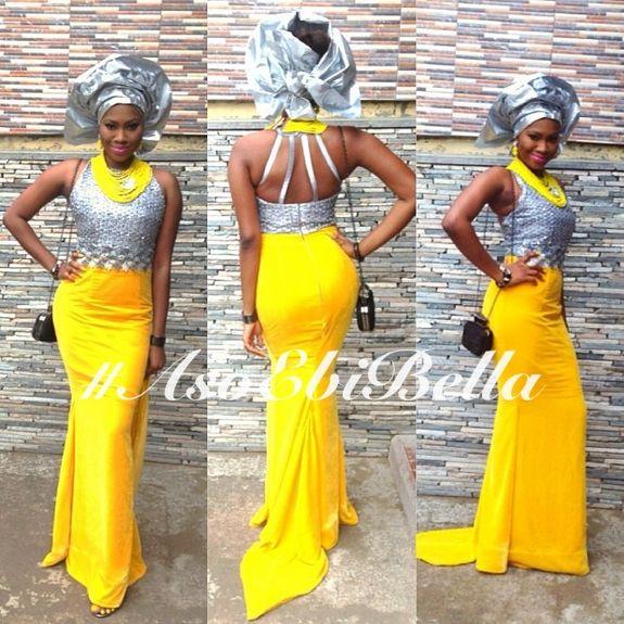 Aso Ebi, Asoebi, Bellanaija Weddings, Nigerian Wedding