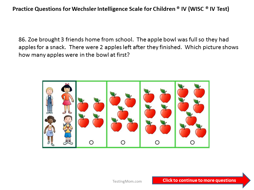Printable Iq Test For Kids Mattawa