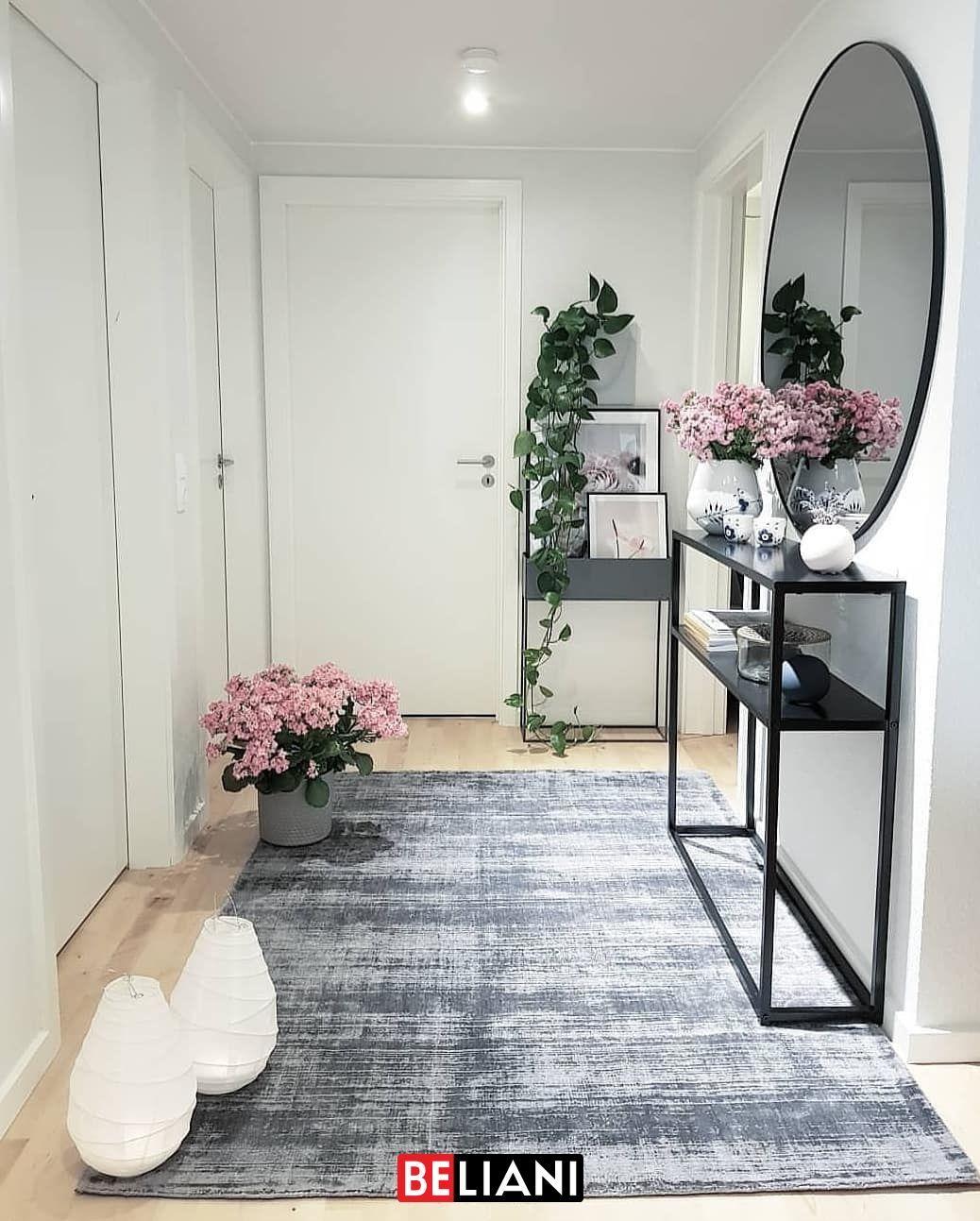 Ein schöner Teppich ist wie ein Kunstwerk in Ihrem Heim. Die Farben, das Muster, die Größe - der richtige Teppich verleiht Ihrem Wohnbereich noch mehr Atmosphäre und Gemütlichkeit. #beliani #interiordesign #glamour #wohnideen flur dekoration Traumhaft weicher, handgewebter Teppich in Blau