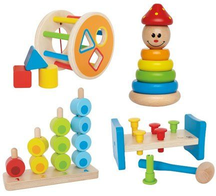 Classic Wood Toddler Early Development Toys Gift Set by Seller Tiny Jelly Beans, LLC  - Click image twice for more info - see a larger  of  baby shape sorter toys   at  http://zbabybaby.com/category/baby-categories/baby-and-toddler-toys/baby-shape-sorter-toys/ - gift ideas, baby , baby shower gift ideas, toy  .  « zBabyBaby.com