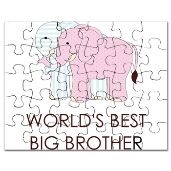 WORLD BEST BIG BROTHER Puzzle