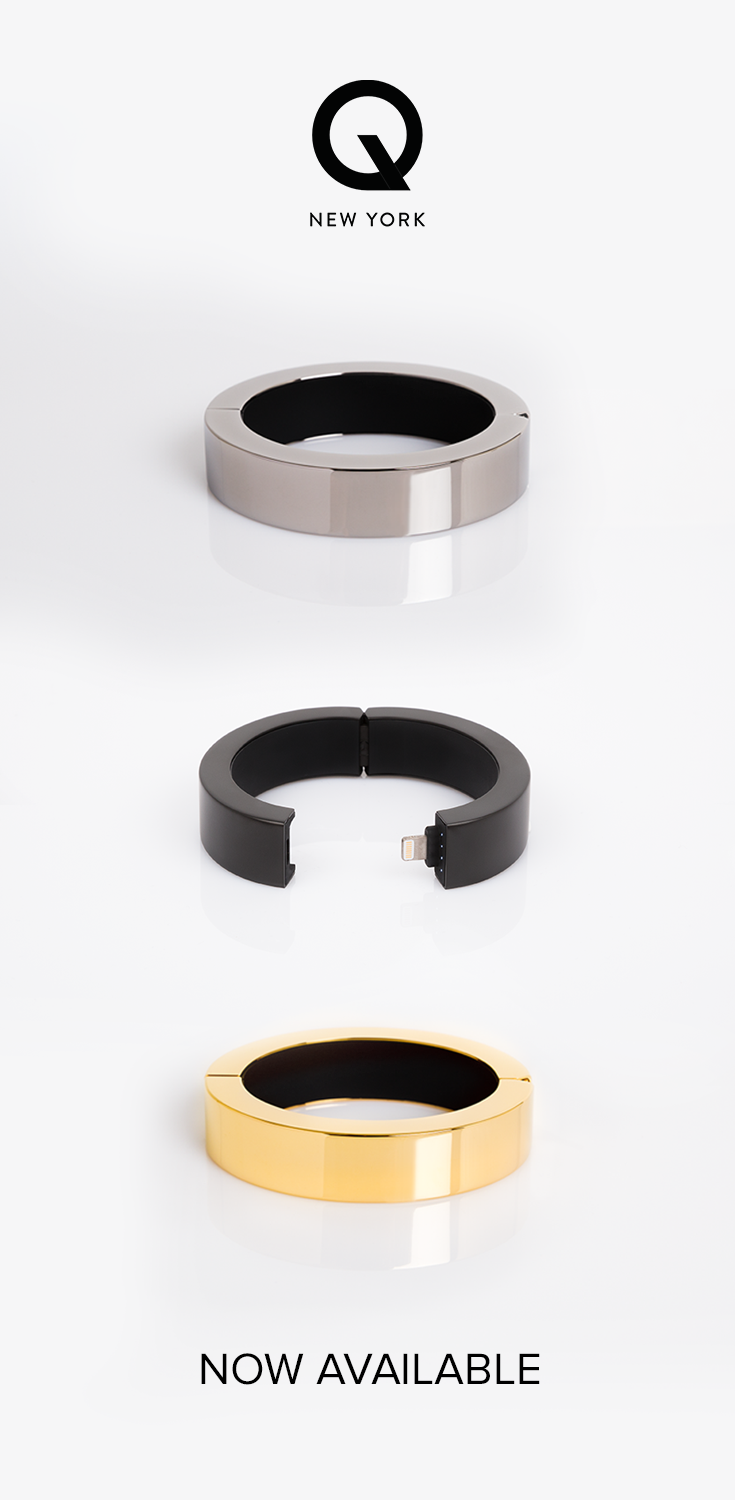 Stunning style with a purpose: a bracelet that charges your iPhone and makes the perfect holiday gift.