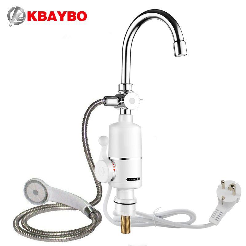3000 watt instant durchlauferhitzer elektrische dusche wasserhahn ... - Durchlauferhitzer 220v Küche