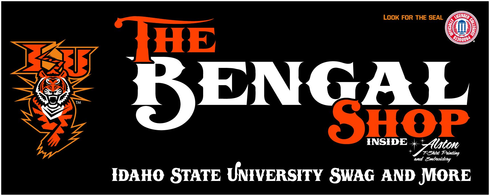 f954faf4 Idaho State University Bengals Logo | The Bengal Shop | Idaho State ...