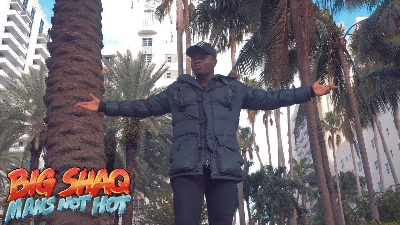 BIG SHAQ - MANS NOT HOT (MUSIC VIDEO) | Hottest music videos, Music videos,  Youtube videos music