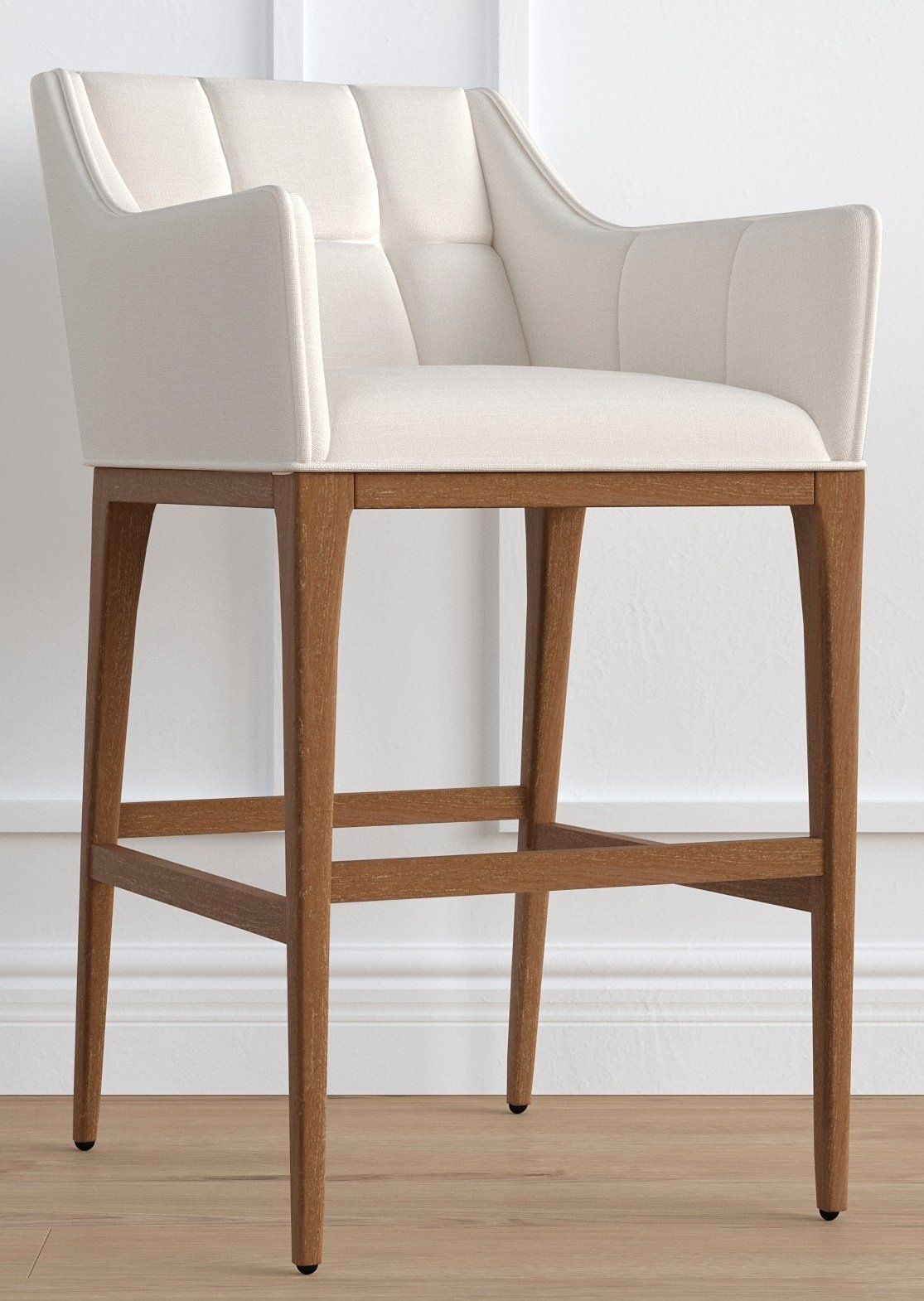 Gramercy Bar Stool With Arms In Sandstone Finish 30 With Images