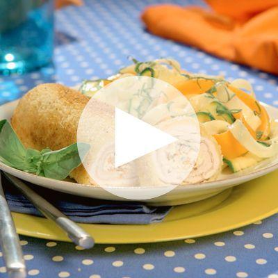 Vous allez aimer notre cordon-bleu roulé à l'italienne avec Philadelphia®, une recette originale et surtout délicieuse !