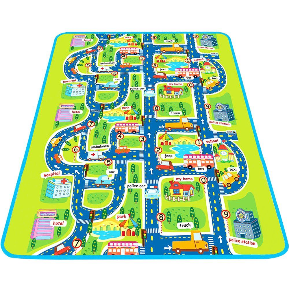 Baby Creeping Pretend Play Mat Large