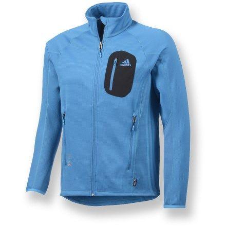 Adidas Male Terrex Cocona Fleece Jacket - Men's