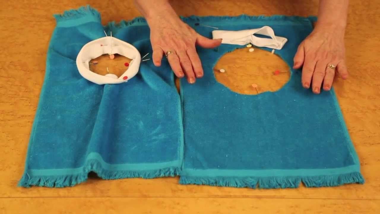@Nancy Zieman Easy Pullover Bibs with Nancy's Notions