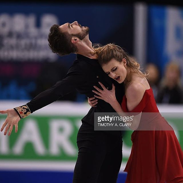Yeah! Woooah! Really great SD!!  #gabriellapapadakis  #guillaumecizeron #papadakiscizeron #boston2016 #wcboston #shortdance #sd #icedance #teamfrance #dansesurglace #patinageartistique #figureskating #teammontreal