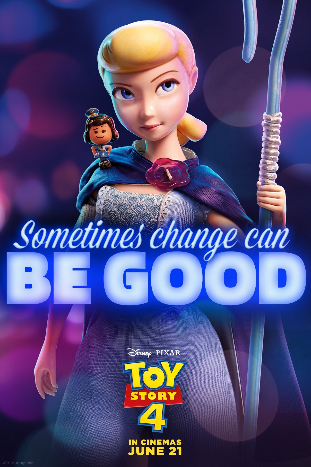 Saving one toy at a time! Watch Bo Peep in Toy Story 4