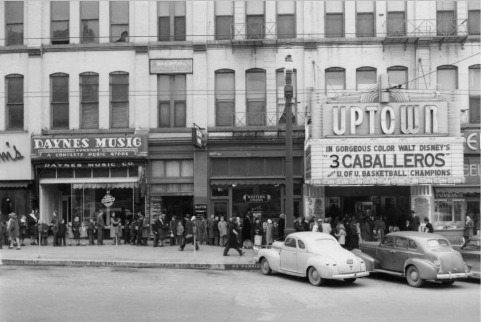 A look back salt lake citys old movie theaters with