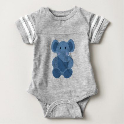 Blue baby elephant baby bodysuit baby gifts child new born gift blue baby elephant baby bodysuit baby gifts child new born gift idea diy cyo special negle Image collections