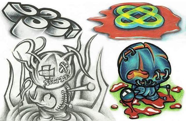 New School Tattoo Flash Flash Tattoo Tattoos Tattooart