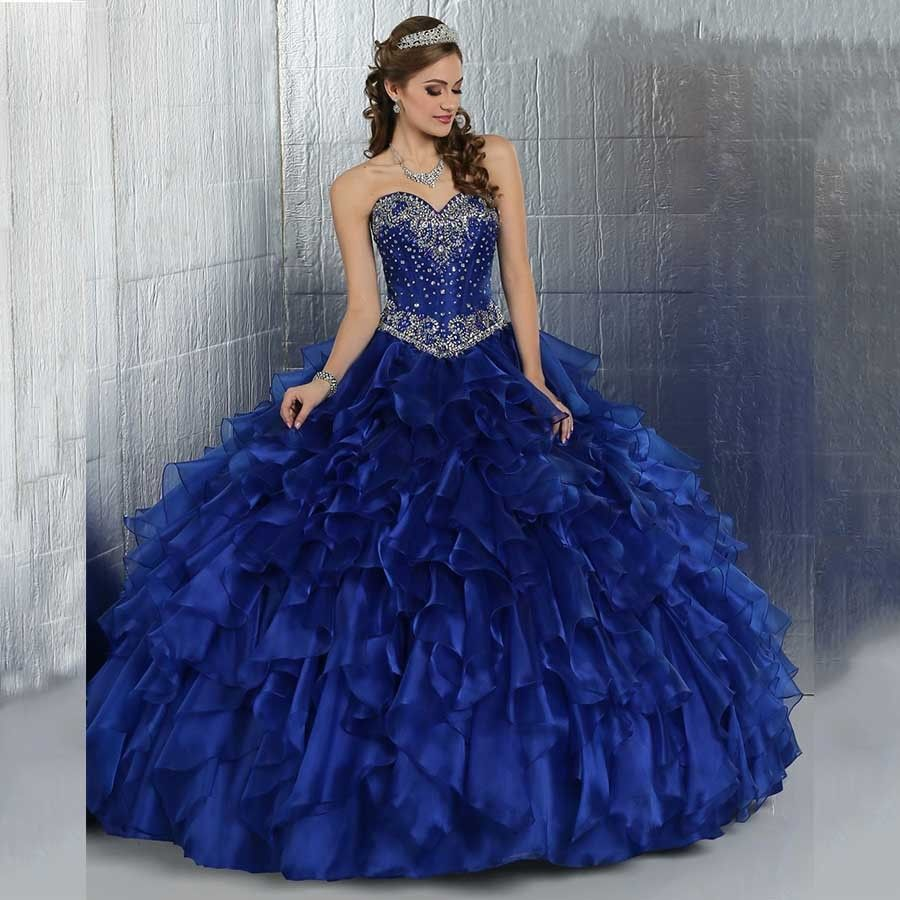 Sweet dresses cheap masquerade ball gowns beaded bodice ruffles