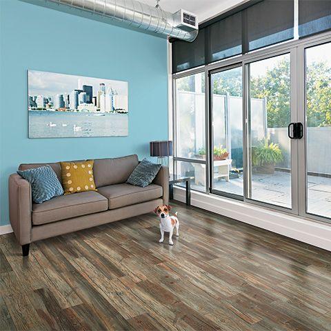 Weatherdale Pine Textured Laminate Floor Dark Pine Wood