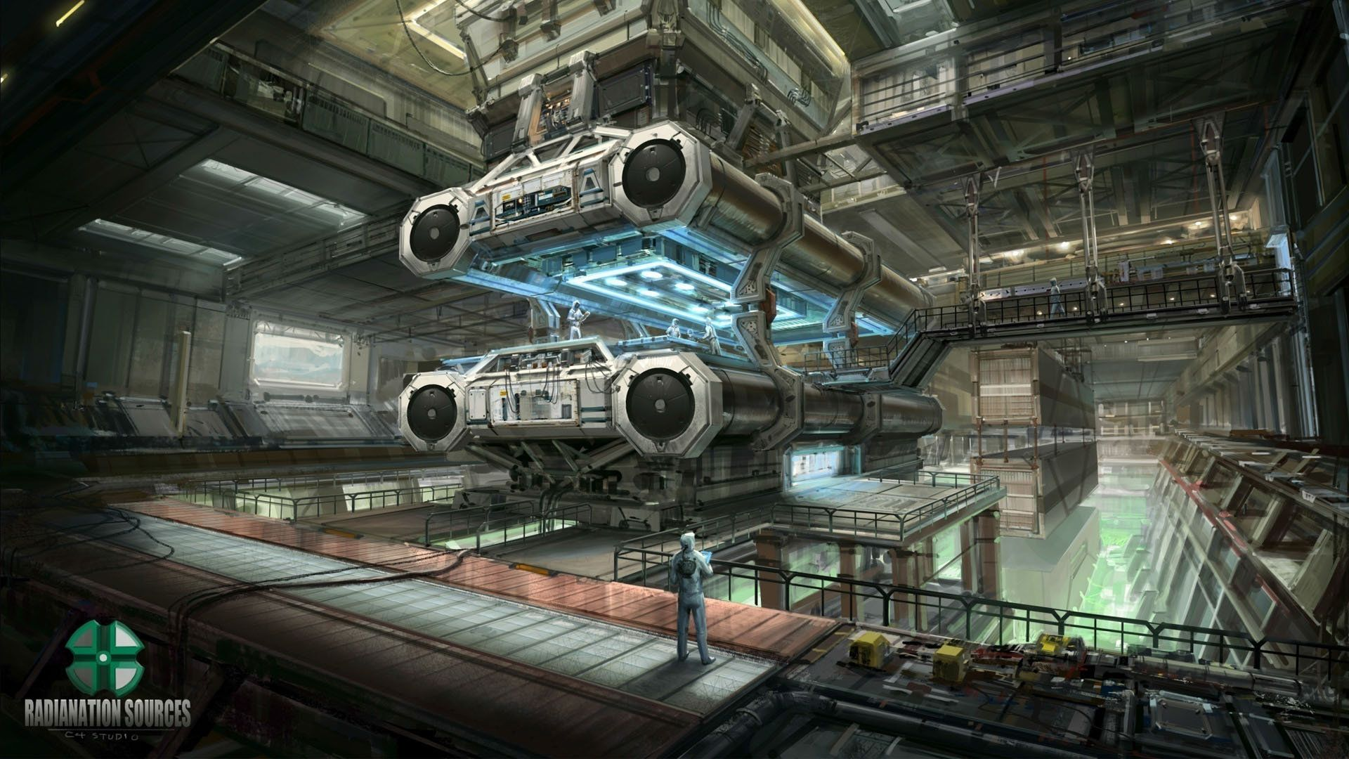ArtStation - Reactor, CONCEPT 4