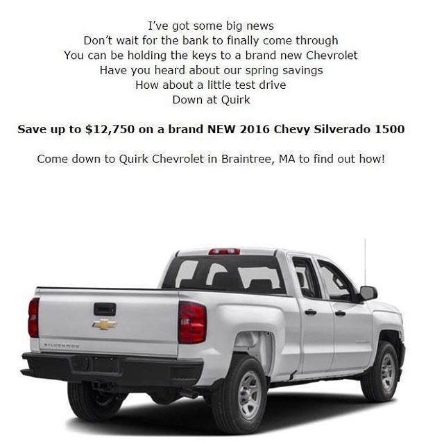 Quirkworks Chevrolet Silverado Springsavings Http Www