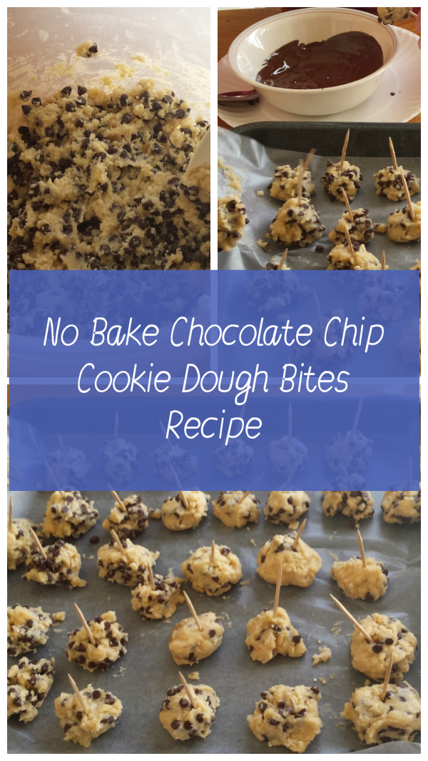 No Bake Chocolate Chip Cookie Dough Bites Recipe Top Blogs
