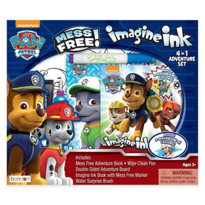 Actividades creativas Paw Patrol Imagine Ink Magic Pictures with Mess-free Marker by Nickelodeon