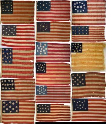 Vintage American Flags Vintage American Flag Flag History Design