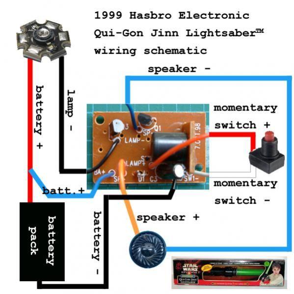 1999 Hasbro Electronic Qui Gon Jinn Lightsaber Board Lightsaber Diy Lightsaber Star Wars Light Saber