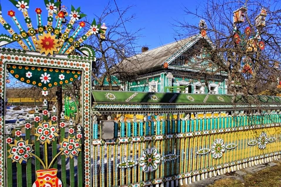 Village house in Russia