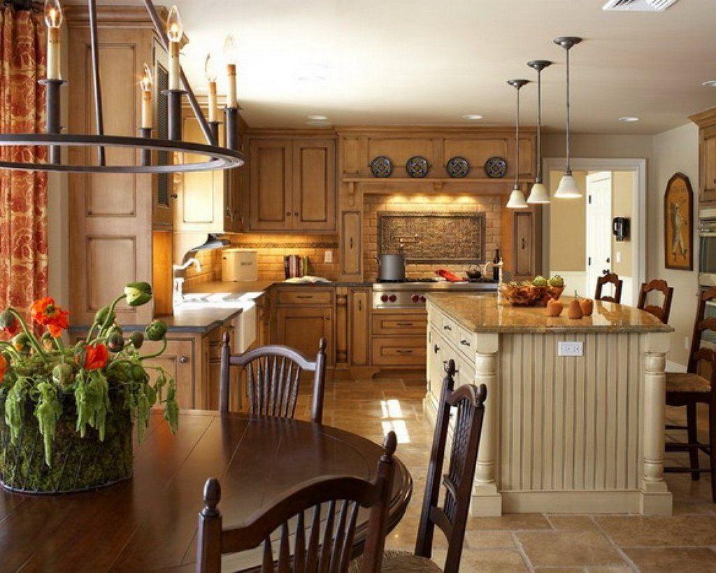 Country Style House Decor. Ideen Für Die KücheKüchen ...