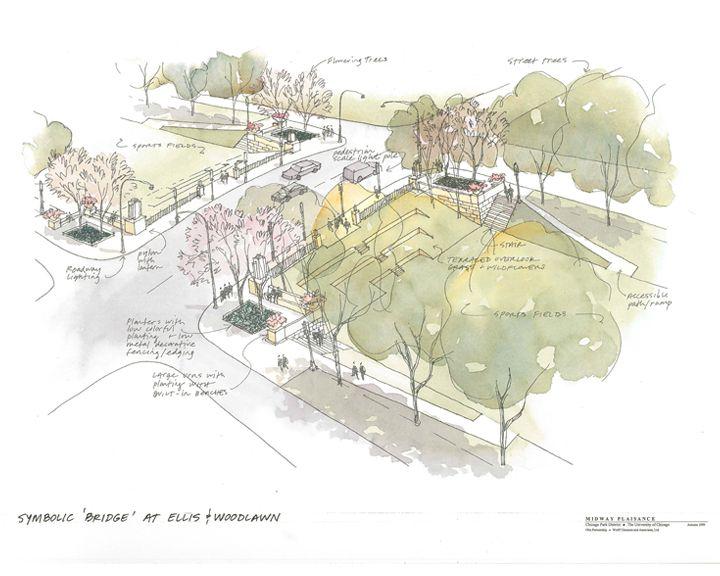 Midway Plaisance Master Plan U2013 Wolff Landscape Architecture
