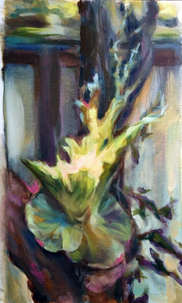 Dawn Dudek - work in progress from 'the adder beneath the rose'